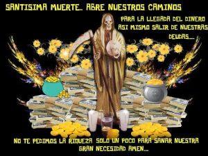 Oración a la Santa Muerte para el Dinero urgente