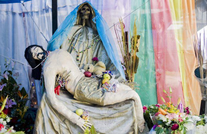 oracion a las santa muerte para la salud