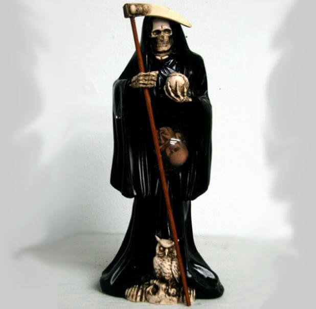 plegaria a la santa muerte negra