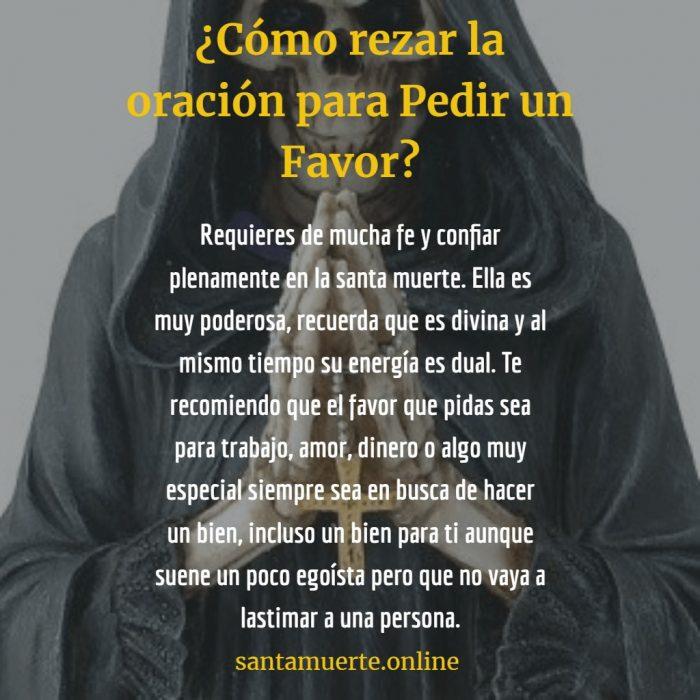 santa muerte pedir un favor