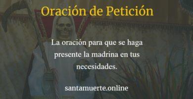 peticion a la santa muerte