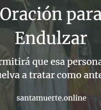 endulzar