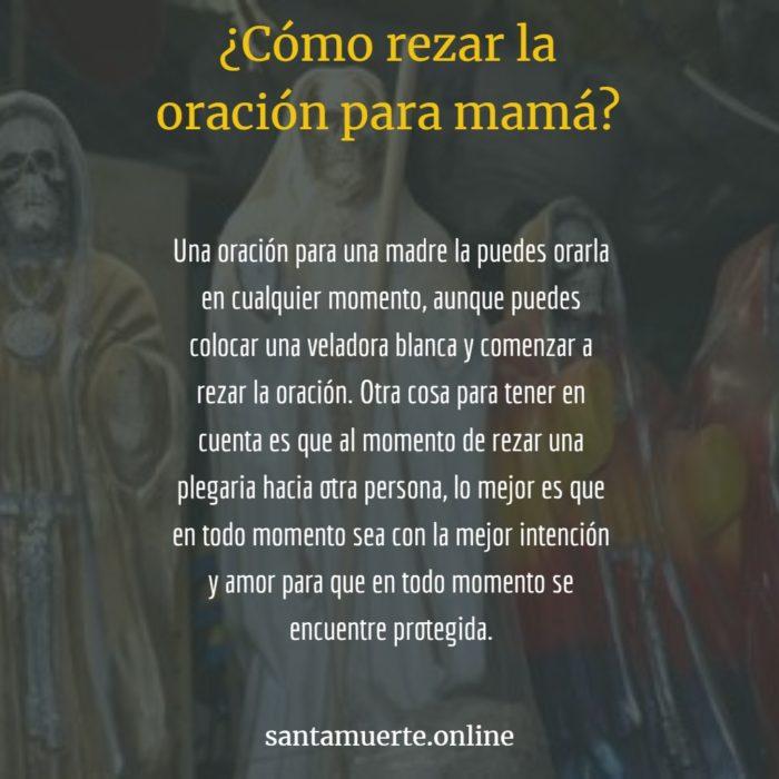 rezar la oración para mamita