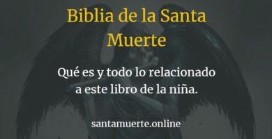 libro santa muerte