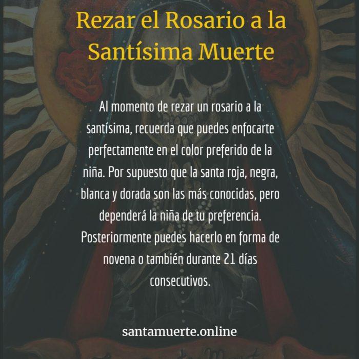 rezar el rosario de la muerte