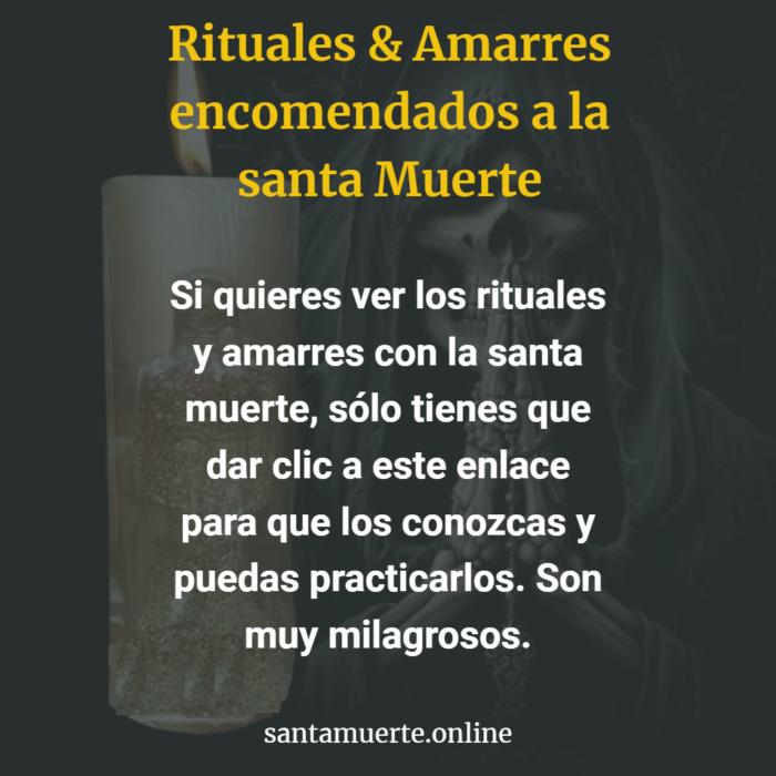 Rituales & amarres a la santísima